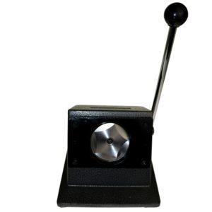 Desktop manual circle punch cutter for badge artwork